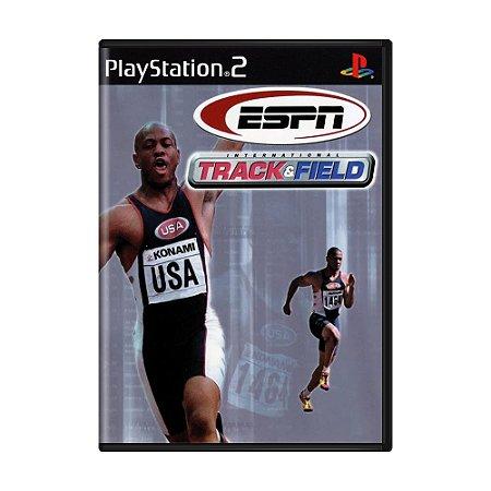 Jogo ESPN International Track & Field - PS2