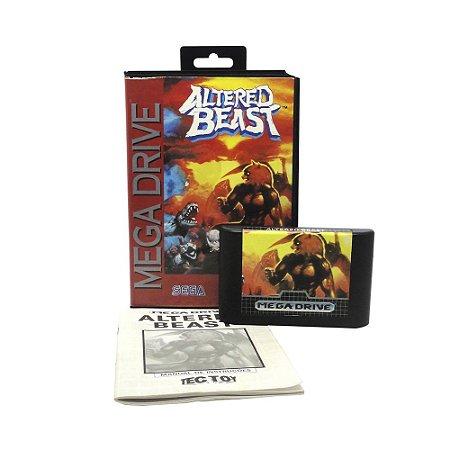 Jogo Altered Beast - Mega Drive