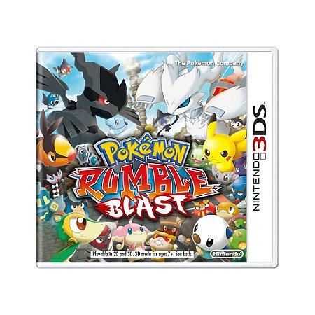 Jogo Pokémon Rumble Blast - 3DS