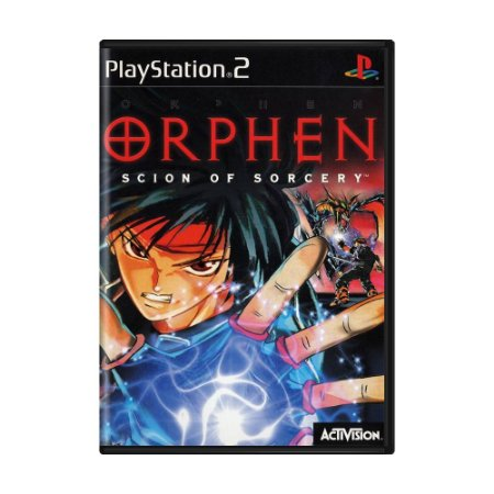 Jogo Orphen: Scion of Sorcery - PS2