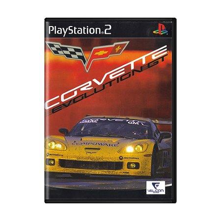 Jogo Corvette Evolution GT - PS2