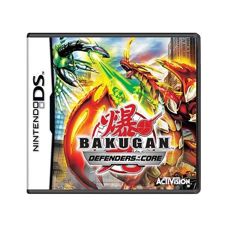 Jogo Bakugan: Defenders of the Core - DS