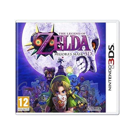 Jogo The Legend of Zelda: Majora's Mask 3D - 3DS (Europeu)