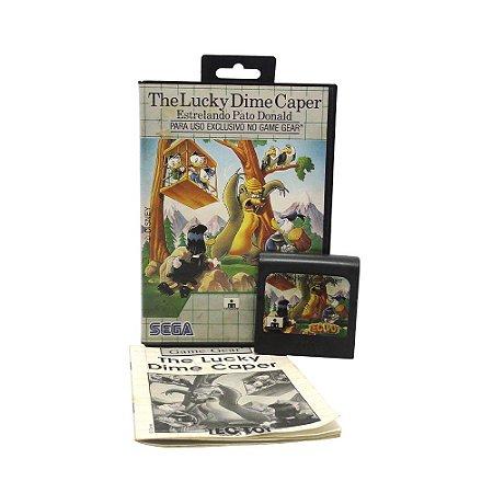 Jogo The Lucky Dime Caper estrelado por Pato Donald - Game Gear
