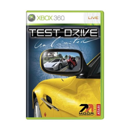 Jogo Test Drive Unlimited - Xbox 360