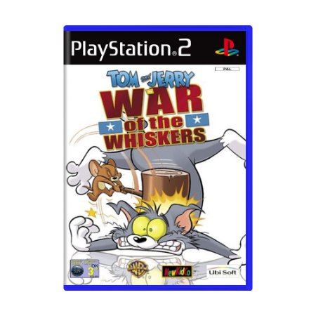 Jogo Tom and Jerry in War of the Whiskers - PS2 (Europeu)