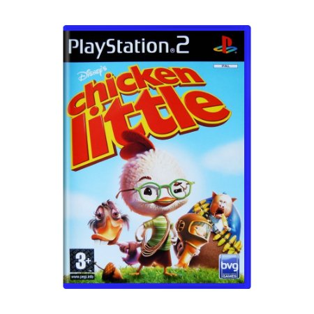 Jogo Chicken Little - PS2 (Europeu)