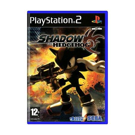 Jogo Shadow the Hedgehog - PS2 (Europeu)