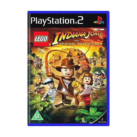 Jogo LEGO Indiana Jones: The Original Adventures - PS2 (Europeu)