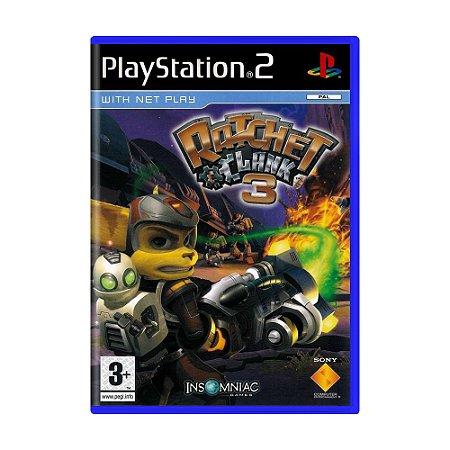 Jogo Ratchet and Clank 3 - PS2 (Europeu)