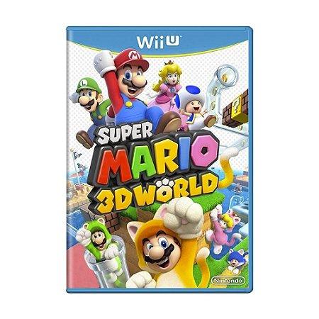 Jogo Super Mario 3D World - Wii U (Lacrado)