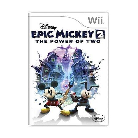Jogo Disney Epic Mickey 2: The Power of Two - Wii