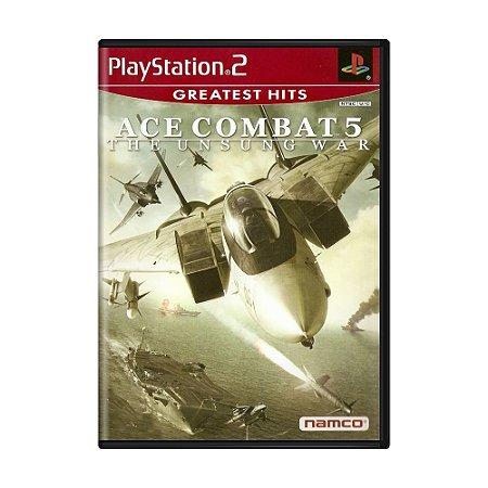 Jogo Ace Combat 5: The Unsung War - PS2