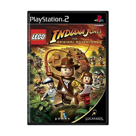 Jogo LEGO Indiana Jones: The Original Adventures - PS2