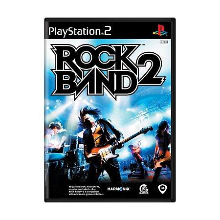Jogo Rock Band 2 - PS2