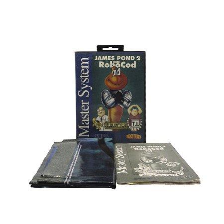 Jogo James Pond 2: Codename RoboCod - Master System