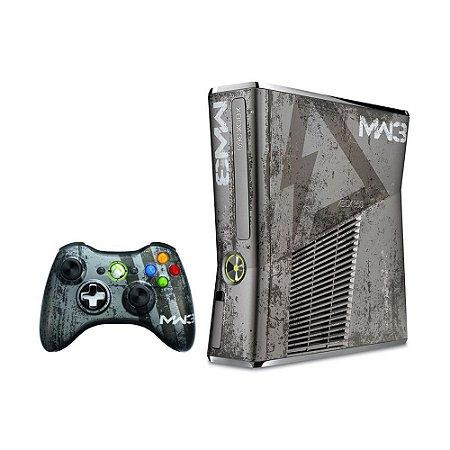 Console Xbox 360 Slim 4GB (Edição Limitada: Call of Duty: Modern Warfare 3) - Microsoft