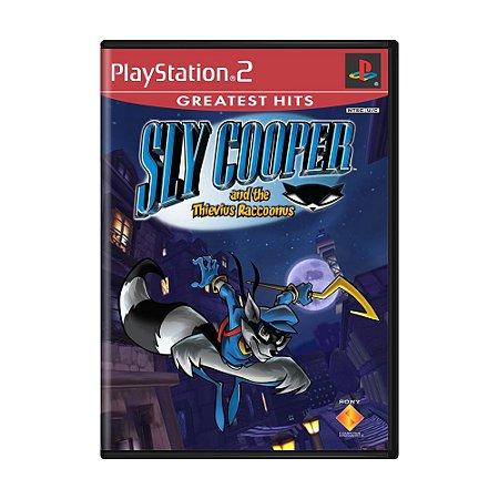 Jogo Sly Cooper and the Thievius Raccoonus - PS2