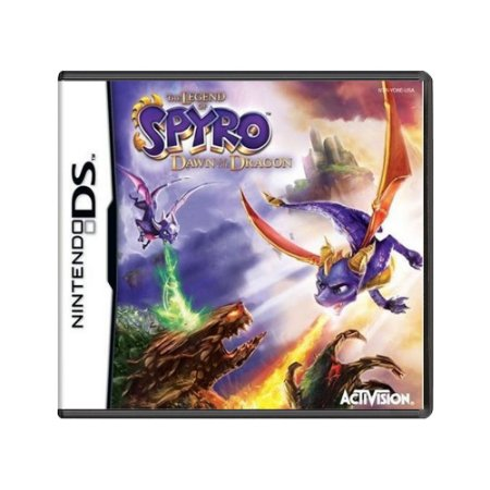 Jogo The Legend of Spyro: Dawn of the Dragon - DS