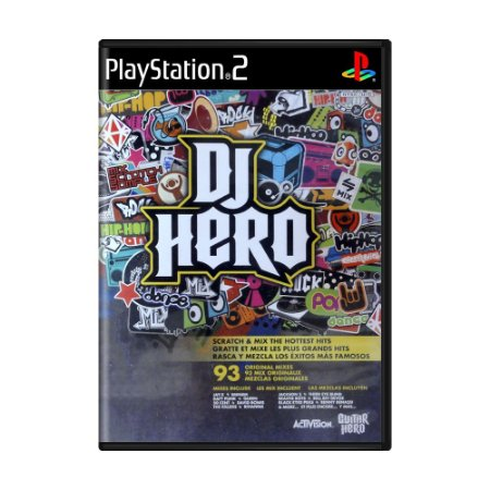 Jogo DJ Hero - PS2