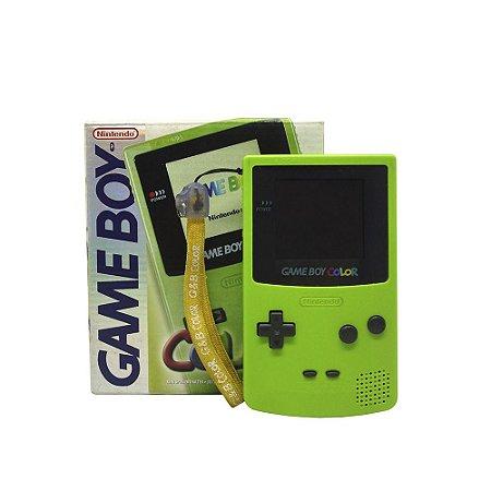 Console Game Boy Color Verde - Nintendo