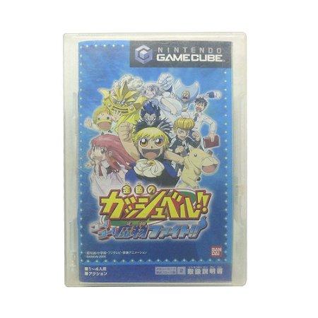 Jogo Konjiki no Gash Bell!! Go! Go! Mamono Fight!! - GameCube (Japonês)