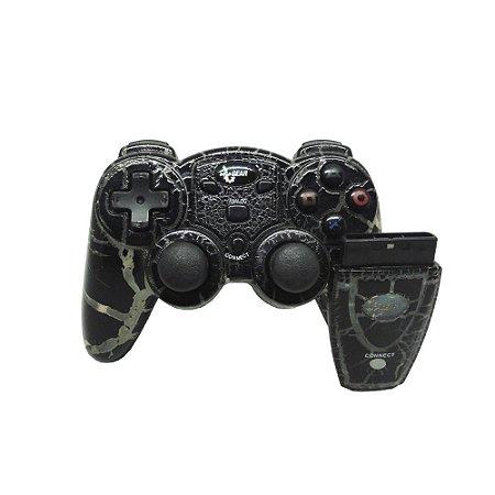 Controle DreamGEAR Wireless Preto - PS2