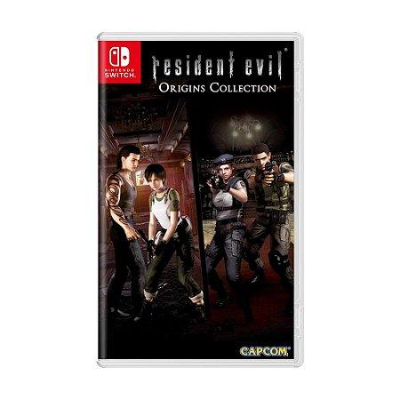 Jogo Resident Evil Origins Collection - Switch