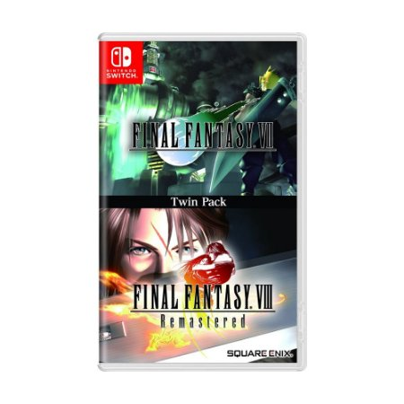 Jogo Final Fantasy VII & Final Fantasy VIII Remastered: Twin Pack - Switch