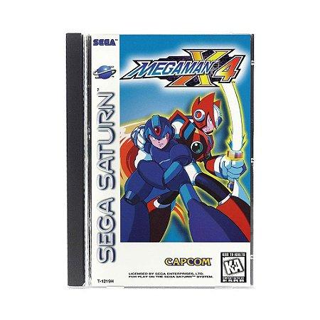 Jogo Mega Man X4 - Sega Saturn