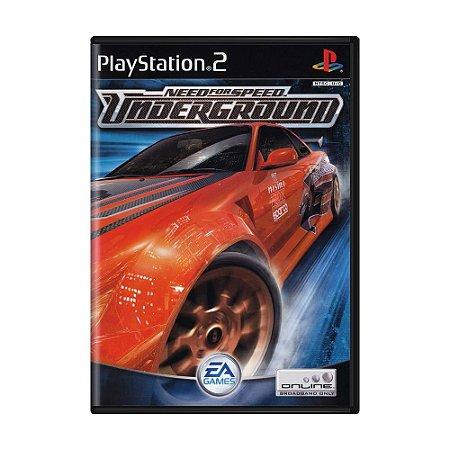 Jogo Need for Speed: Underground - PS2