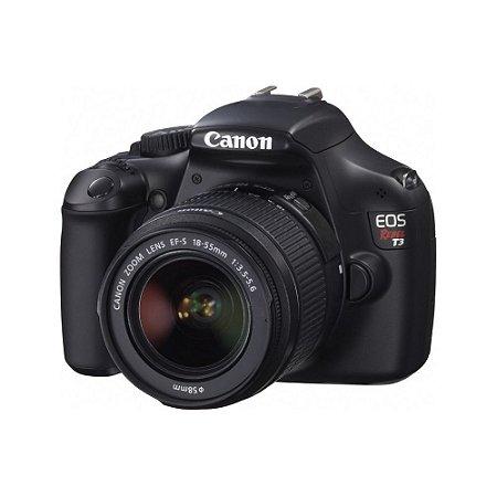 Câmera EOS Rabel T3 - Canon