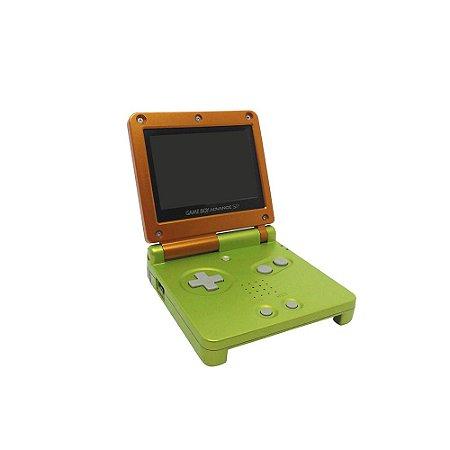 Console Game Boy Advance SP Limão Laranja - Nintendo
