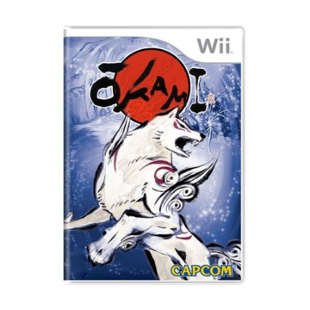 Jogo Okami - Wii (Lacrado)