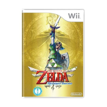 Jogo The Legend of Zelda: Skyward Sword - Wii (Lacrado)
