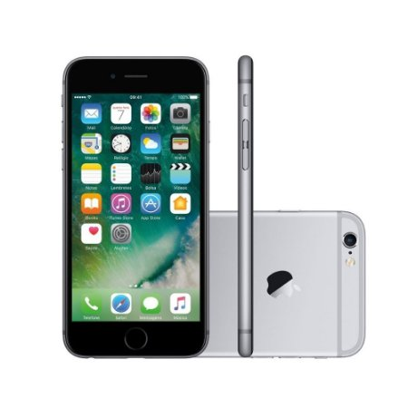 iPhone 6 Cinza Espacial 16GB - Apple