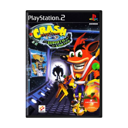 Jogo Crash Bandicoot: The Wrath of Cortex - PS2