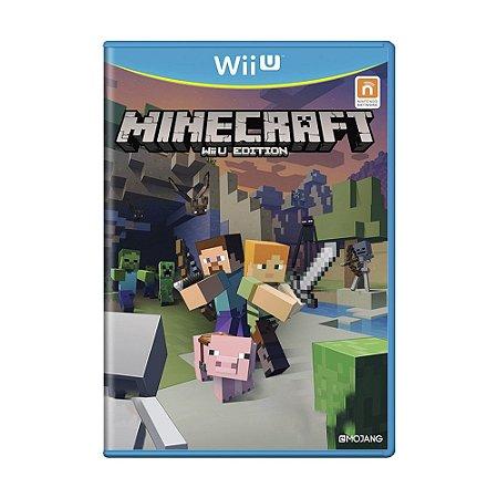 Jogo Minecraft Wii U Edition - Wii U