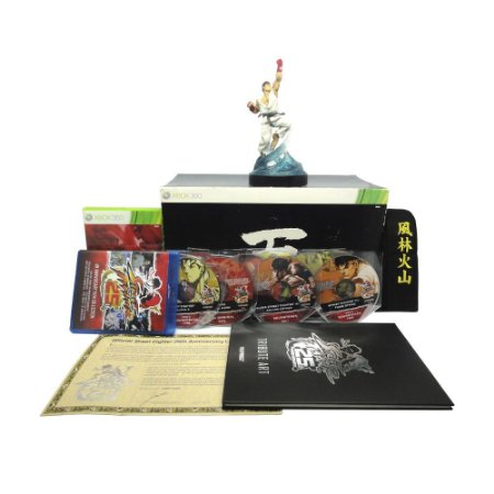 Jogo Street Fighter (25th Anniversary Collector's Set) - Xbox 360