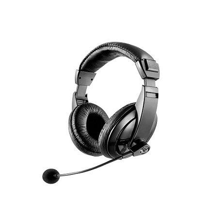 Headset Multilaser Giant P2 com fio - PC