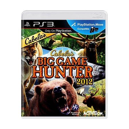 Jogo Cabela's Big Game Hunter 2012 - PS3