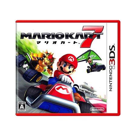 Jogo Mario Kart 7 - 3DS (Japonês)