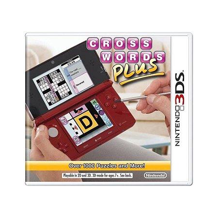 Jogo CrossWords Plus - 3DS