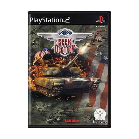 Jogo Seek and Destroy - PS2