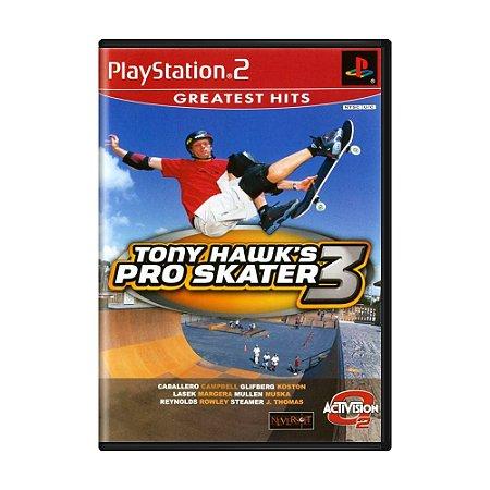 Jogo Tony Hawk's Pro Skater 3 - PS2