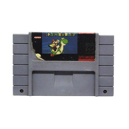 Jogo Super Mario World - SNES