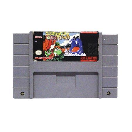 Jogo Super Mario World 2: Yoshi's Island - SNES
