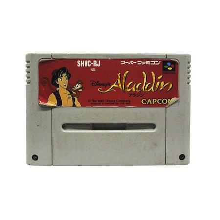 Jogo Disney's Aladdin - SNES (Japonês)