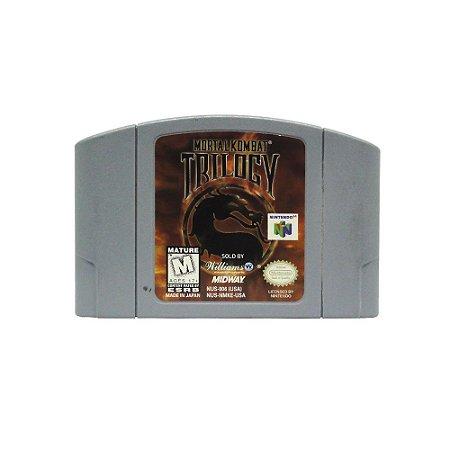 Jogo Mortal Kombat Trilogy - N64