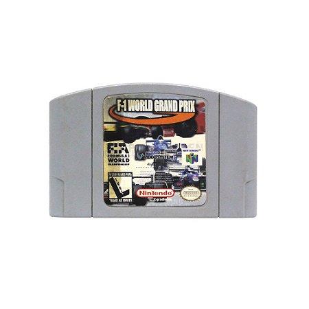Jogo F-1 World Grand Prix - N64